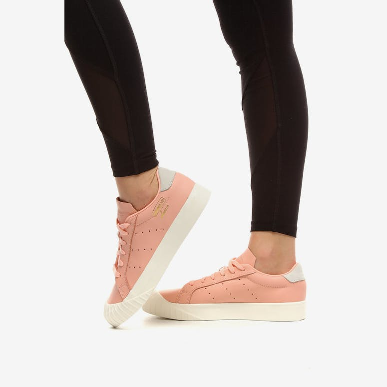 Adidas Women s Everyn Clear Orange White  9e13ca87a