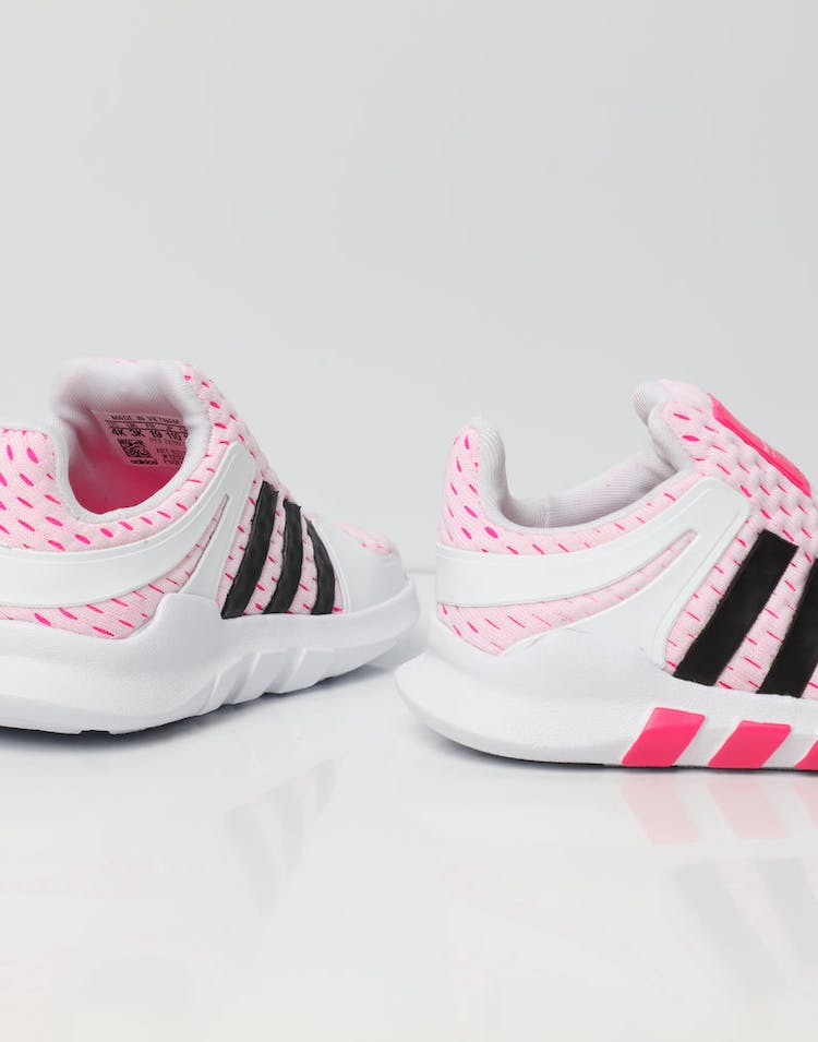 Adidas EQT ADV 360 Infant Shoe White/Black/Pink