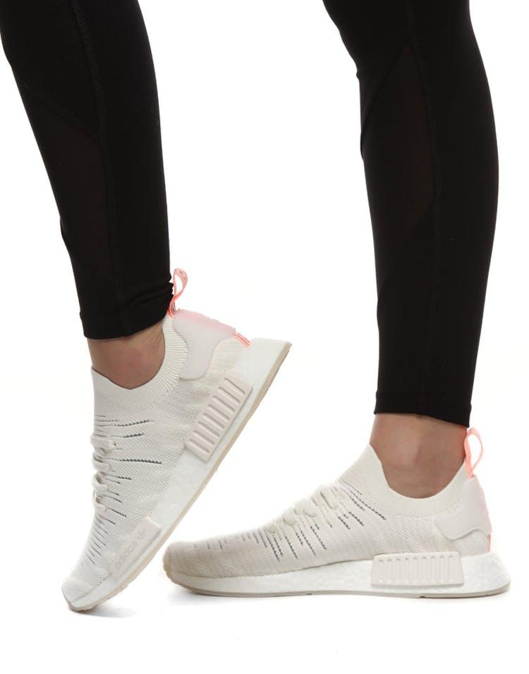 22be05a327557 Adidas NMD R1 STLT PRIMEKNIT SHOES Grey White