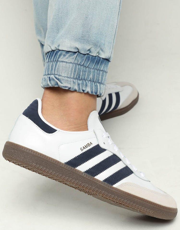 2cbaed9ff Adidas Samba OG White/Navy – Culture Kings