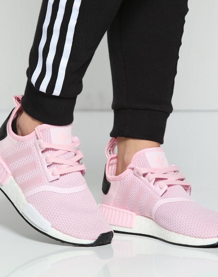 separation shoes 67876 3c637 Adidas Women's NMD R1 Pink/White/Black