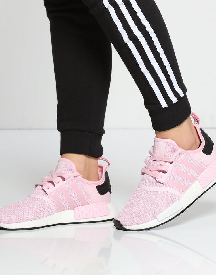 separation shoes 8a578 ef366 Adidas Women's NMD R1 Pink/White/Black