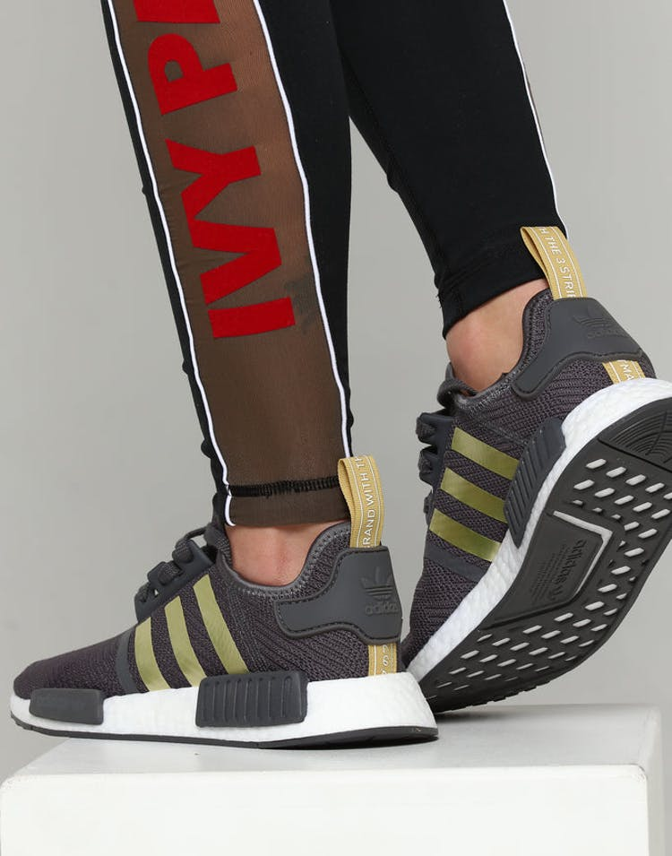 04a47e3a8cad8 Adidas Women s NMD R1 Grey Gold White – Culture Kings