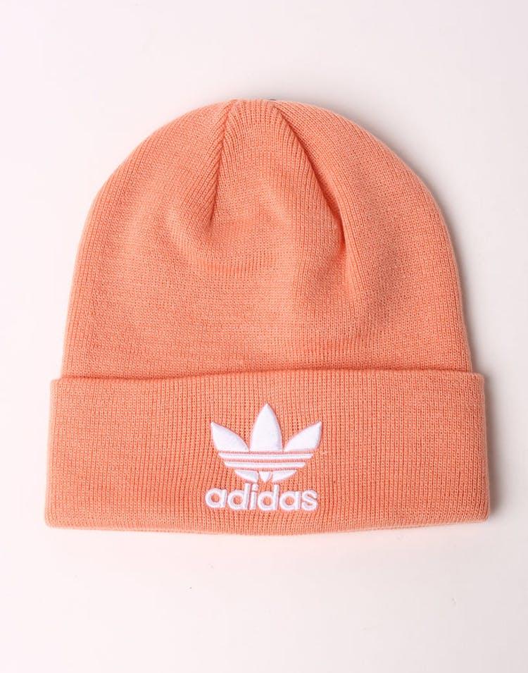 best service c4220 04b4f Adidas Trefoil Beanie Pink White – Culture Kings