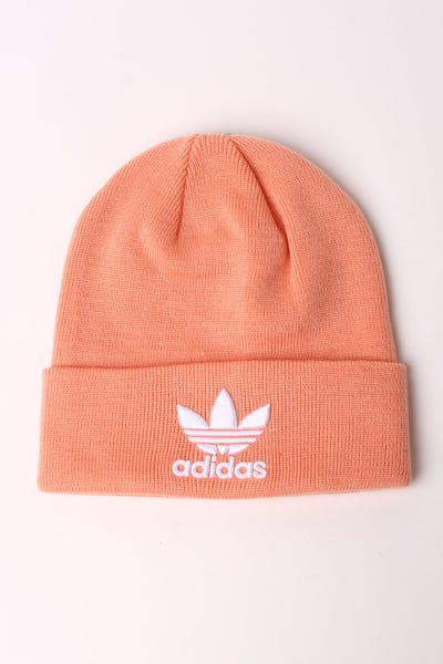c6e26302a3ff8 Adidas Trefoil Beanie Pink White
