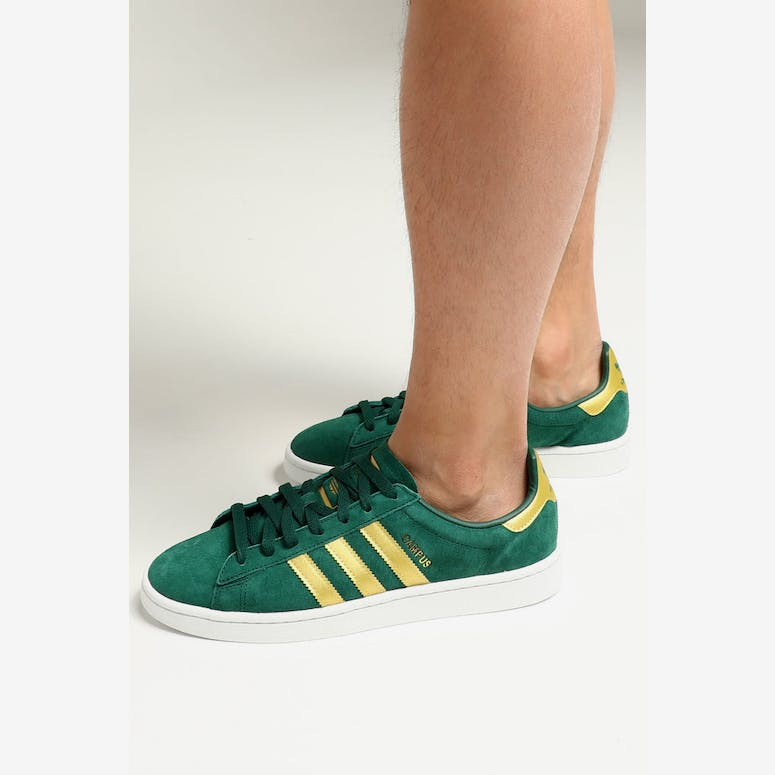 Adidas Campus Green Gold White – Culture Kings 5baf1504e