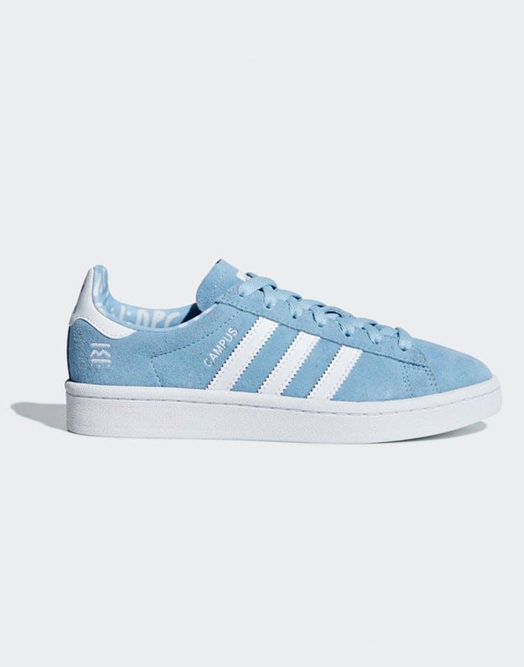 designer fashion usa cheap sale top fashion Adidas Campus Junior Clear Blue/White