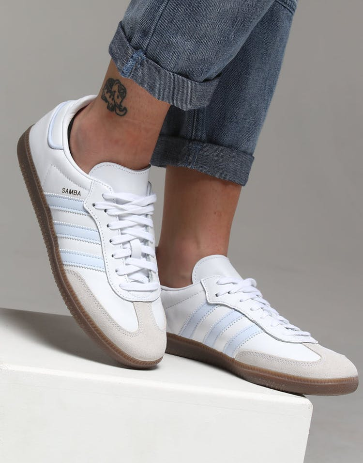 2976eb4927 Adidas Women's Samba OG Light Blue