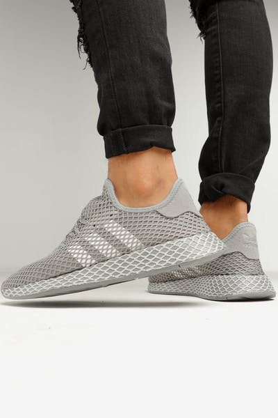 size 40 4b23f b0d0f Adidas Deerupt Runner Grey Heather