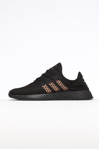 info for d0446 f370e Adidas Deerupt Runner Black Orange White