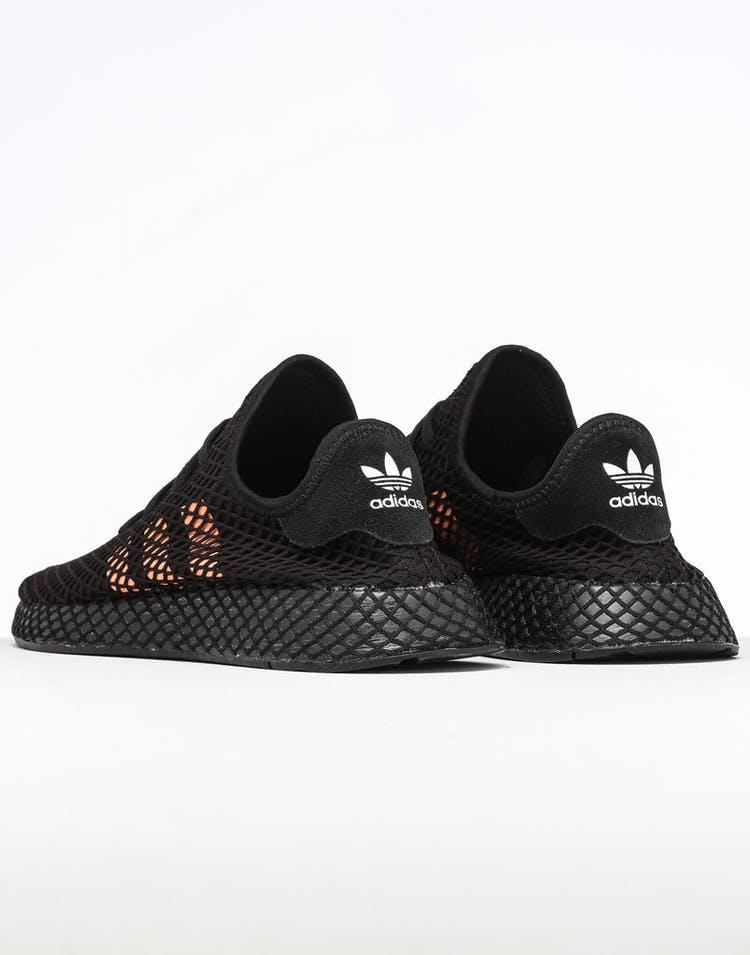 c8962248f3d Adidas Deerupt Runner Black/Orange/White
