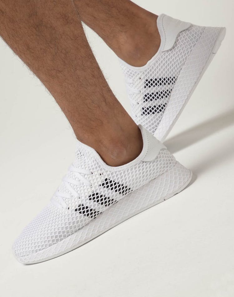 204923f22aa0e Adidas Deerupt Runner White Black Grey – Culture Kings