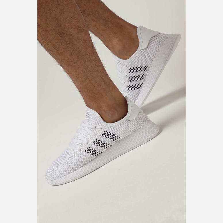 Adidas Deerupt Runner White Black Grey – Culture Kings 83165b32a
