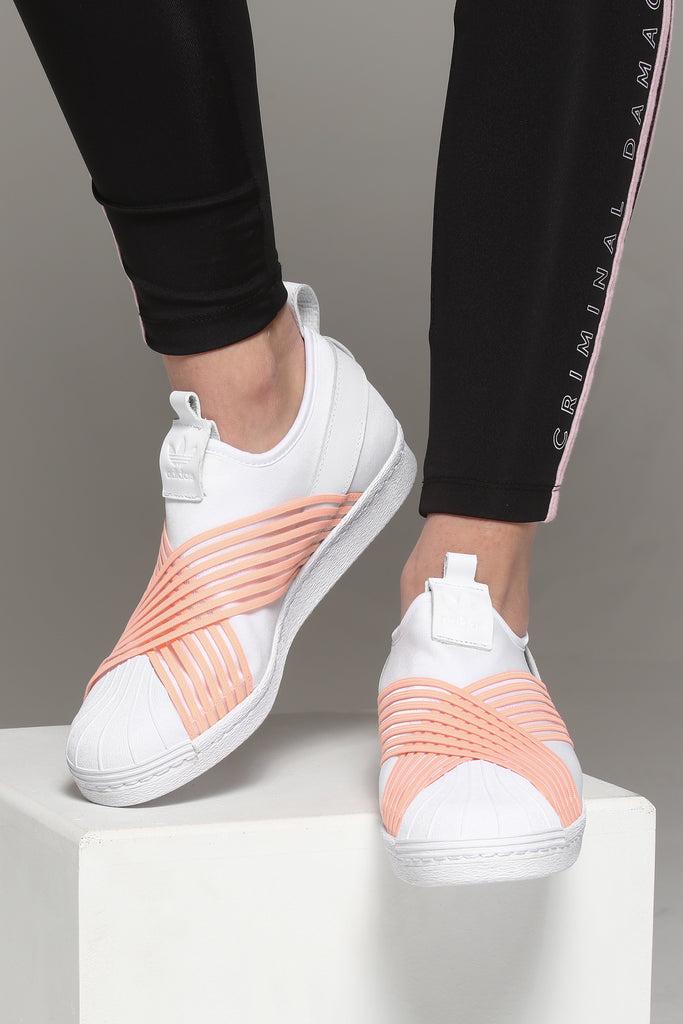 adidas woman superstar elastic