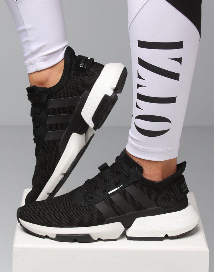 sports shoes 42de8 9998f Adidas Women's Pod-S3.1 Black/White – Culture Kings