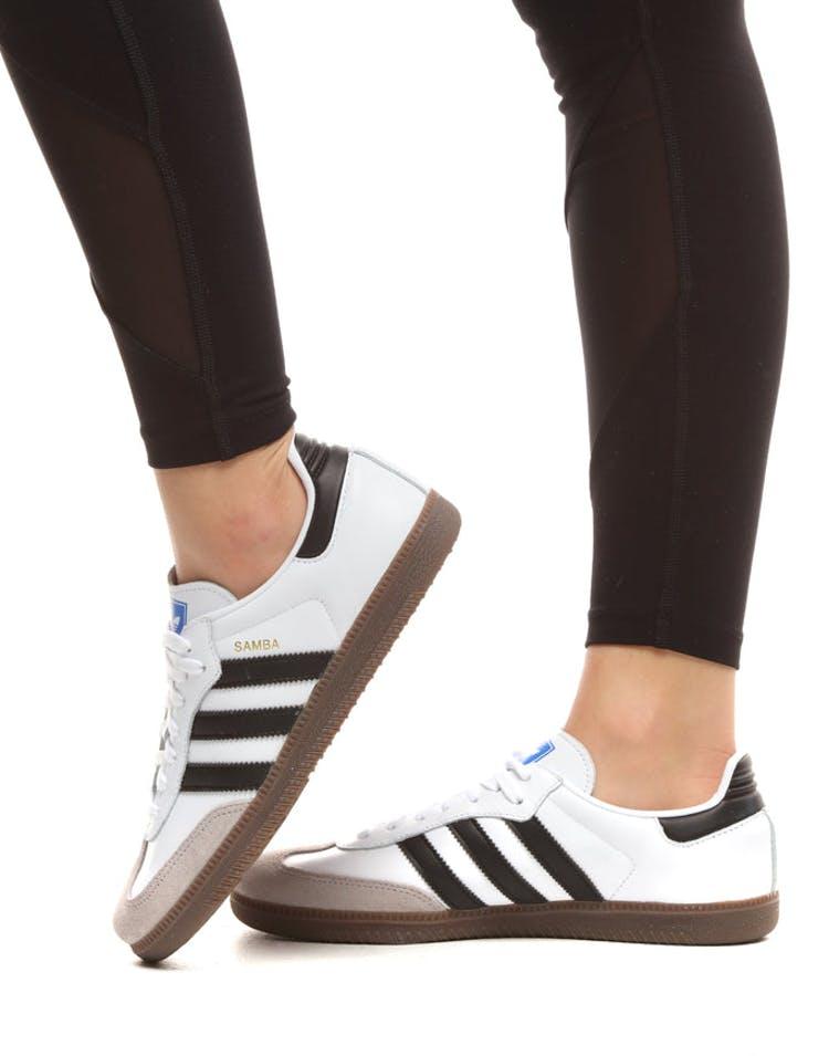 20301cd1f Adidas Women's Samba OG White/Black/Brown   CG7147 – Culture Kings