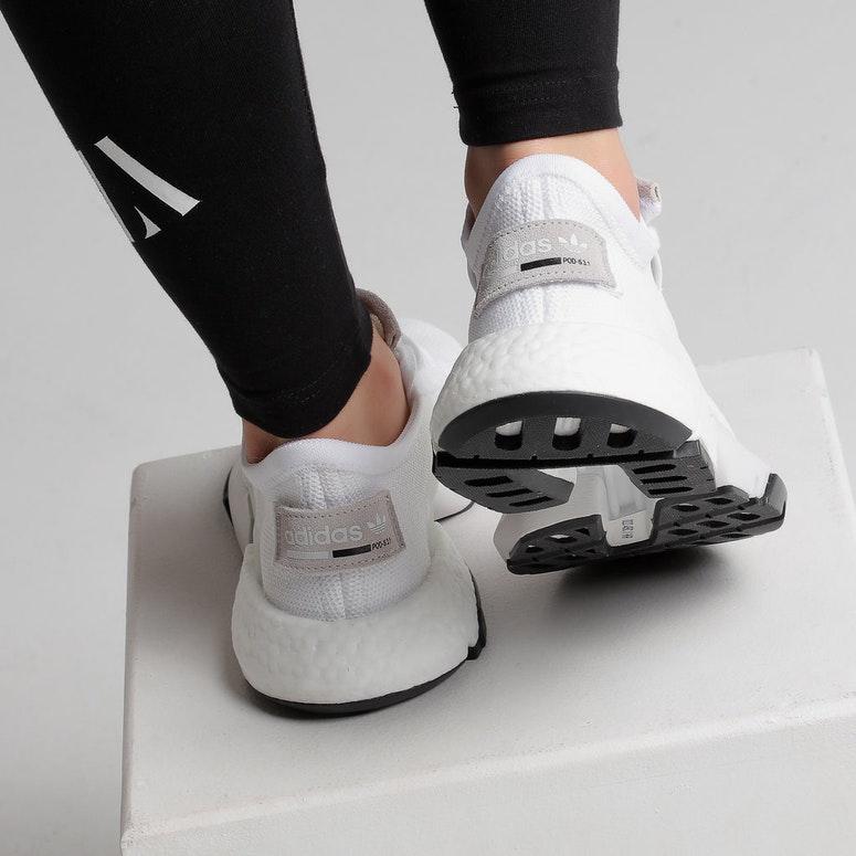 Adidas Women's Pod-S3.1 White/White/Black