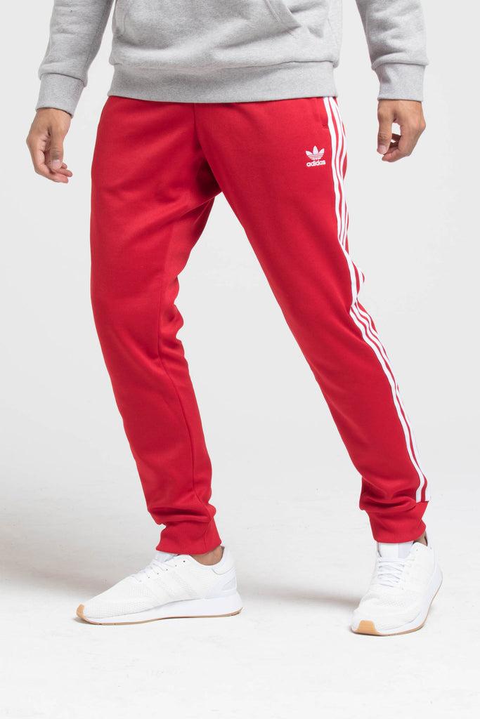 Free Printable Adidas Sst Track Pants Red PASGOTAME