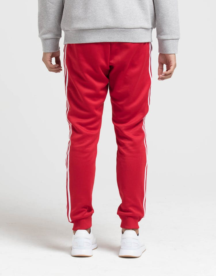 254c313a Adidas Originals SST Track Pant Red – Culture Kings