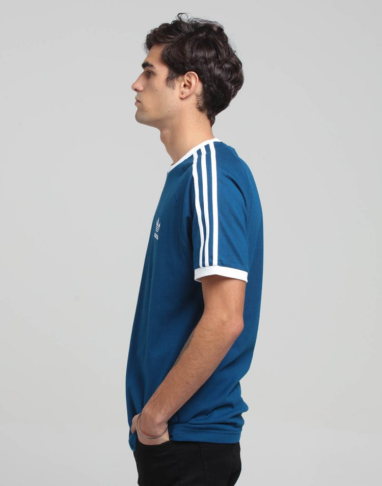 Adidas 3-Stripes Tee Marine Blue