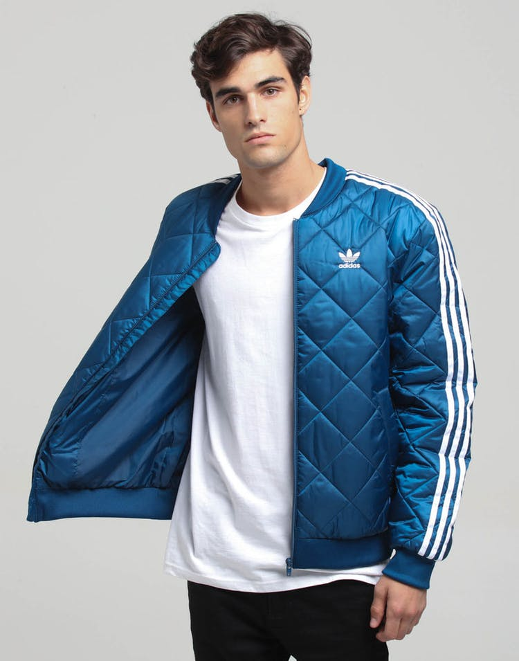 Adidas SST Quilted Marine Blue