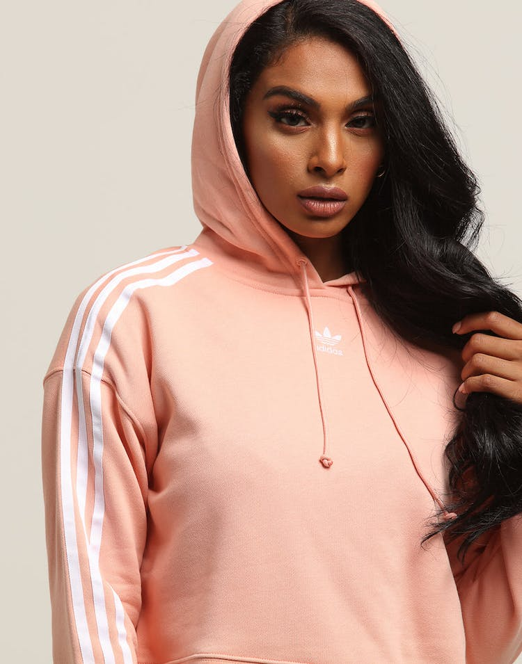 4679087d3fc3 Adidas Women s Cropped Hoodie Light Pink – Culture Kings