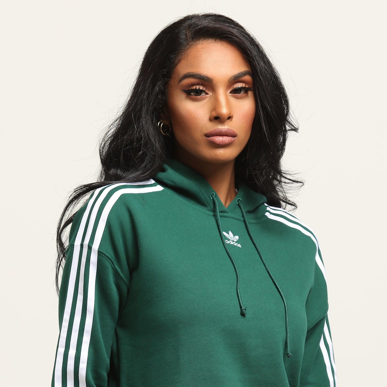 Adidas Hoodie Womens Green | RLDM