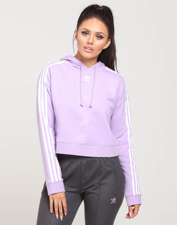 06799ab1bff Adidas Women's Cropped Hoodie Lilac – Culture Kings