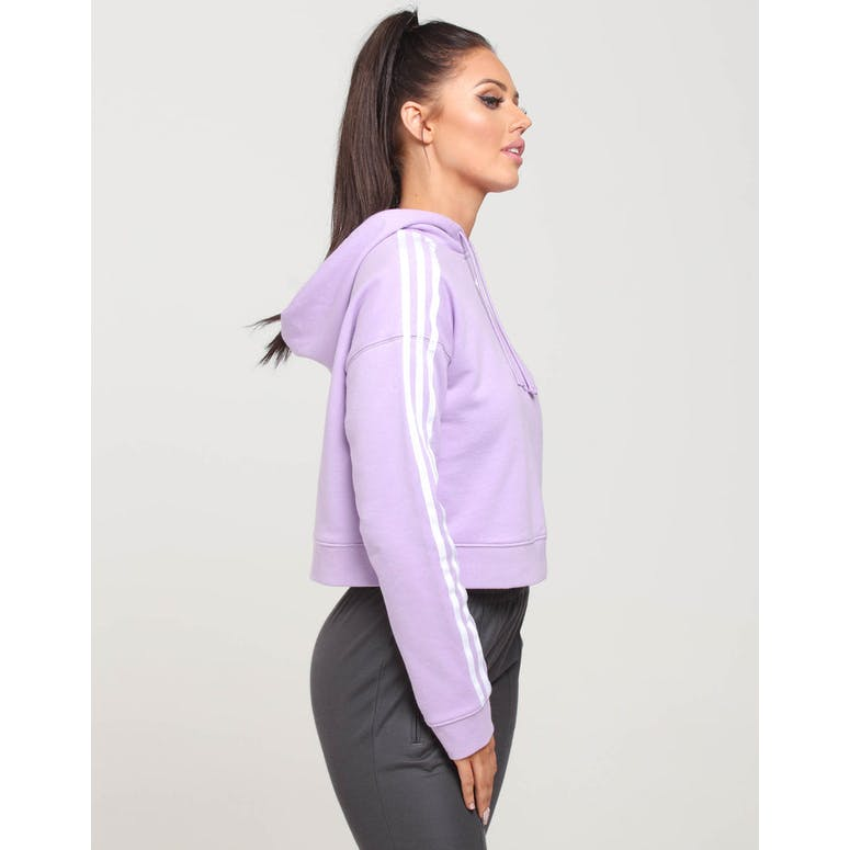 Adidas Women's Cropped Hoodie Lilac