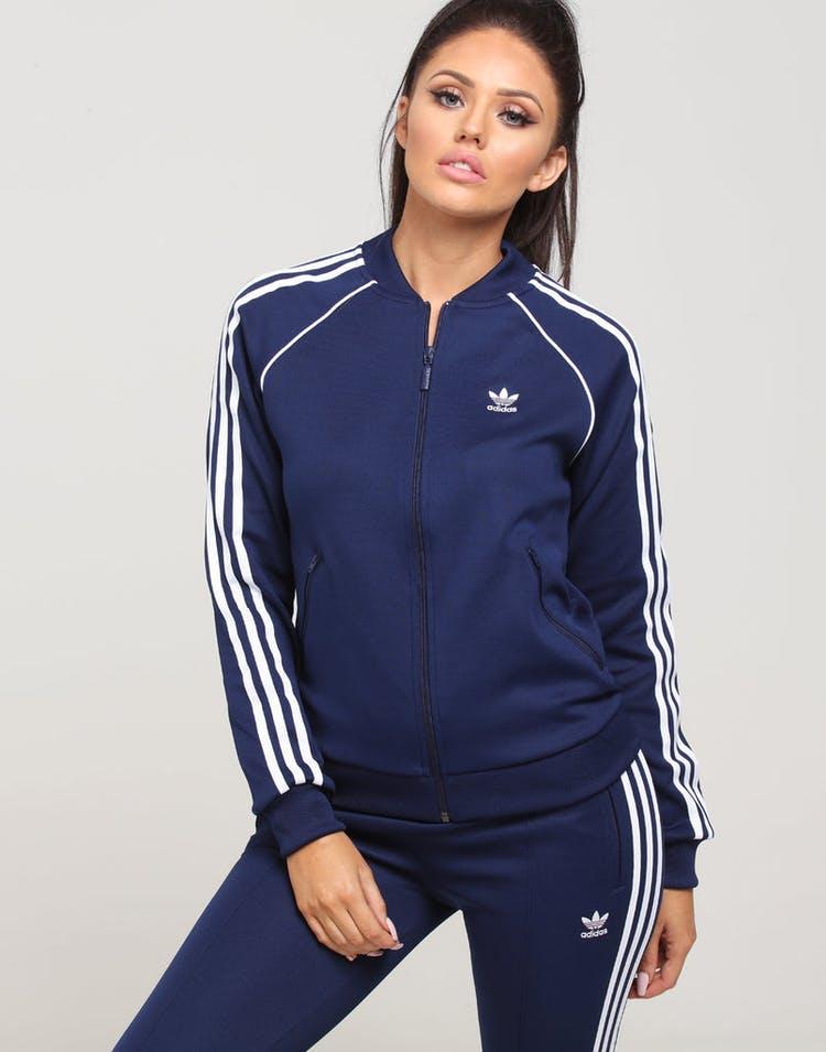 d47912c9e Adidas Women's SST Track Top Dark Blue – Culture Kings