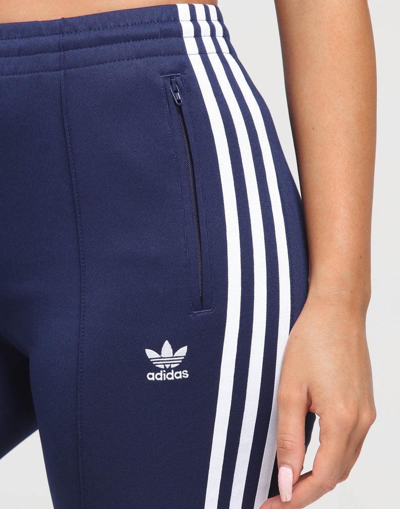 Adidas Women's SST Track Pant Dark Blue