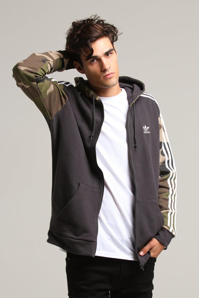Camo Adidas Hoody Zip Full Black 8Pk0wOn