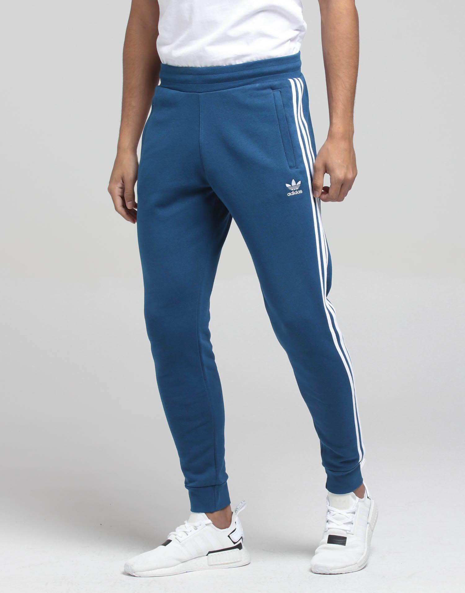 Adidas 3 Stripe Pant Marine Blue