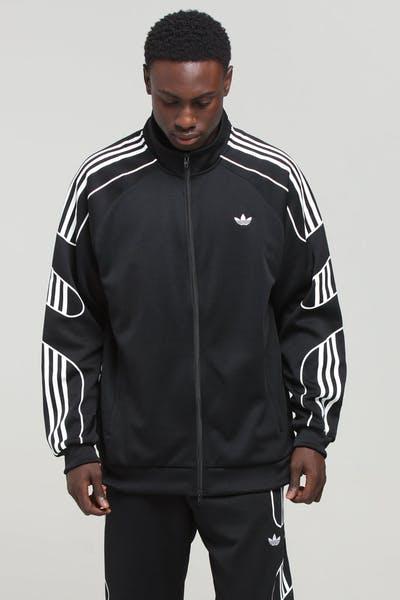 new product bb48d 92a28 Adidas Flamestrk Track Top Black ...