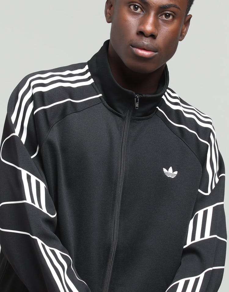 a3df9552c2 Adidas Flamestrk Track Top Black