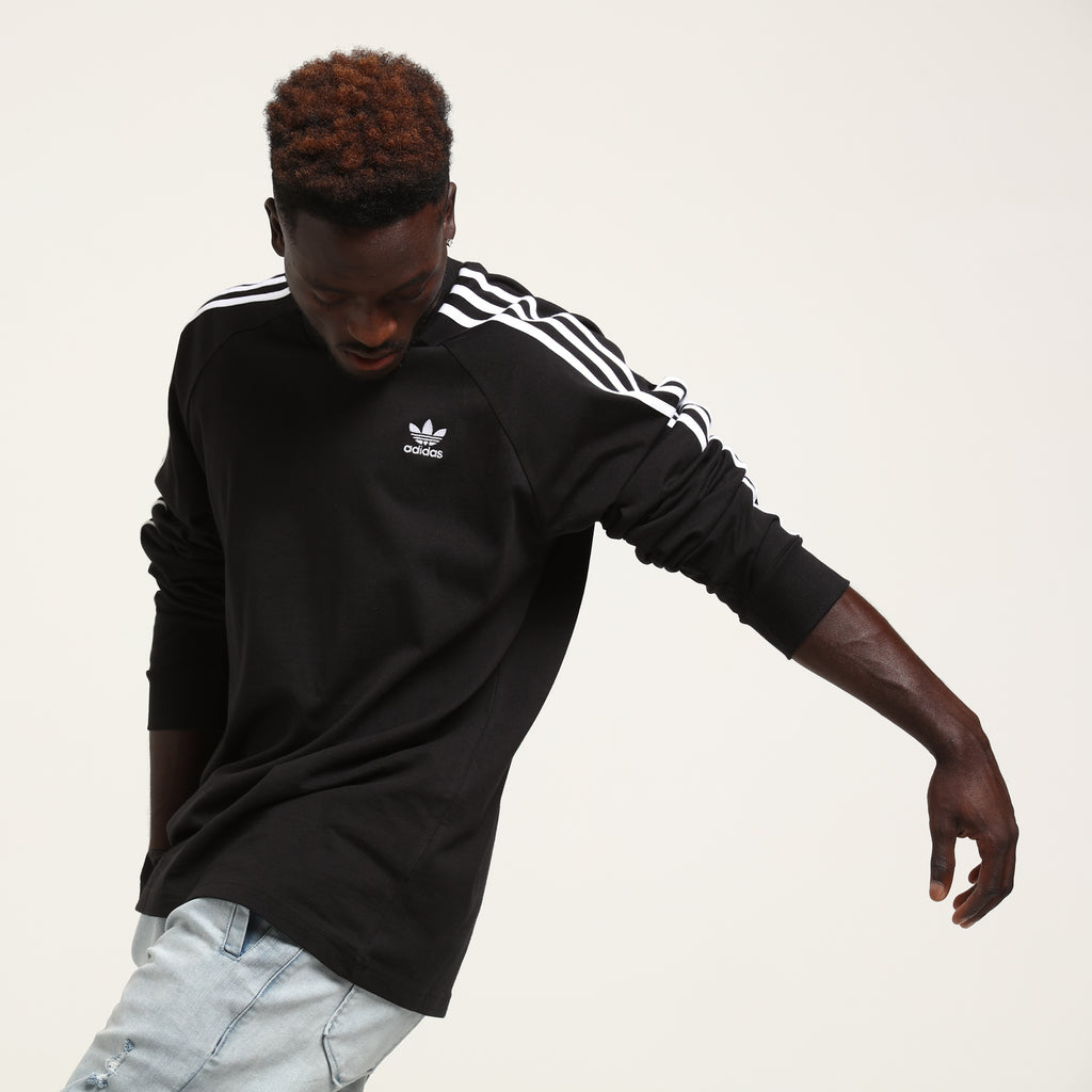 adidas Women's SF Iconic 3 Stripe Track Top BlackGold