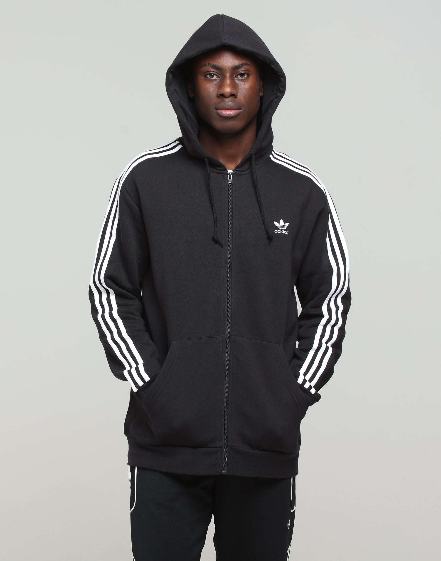 Spectacular Sales for Adidas Originals 3 Stripes Full Zip