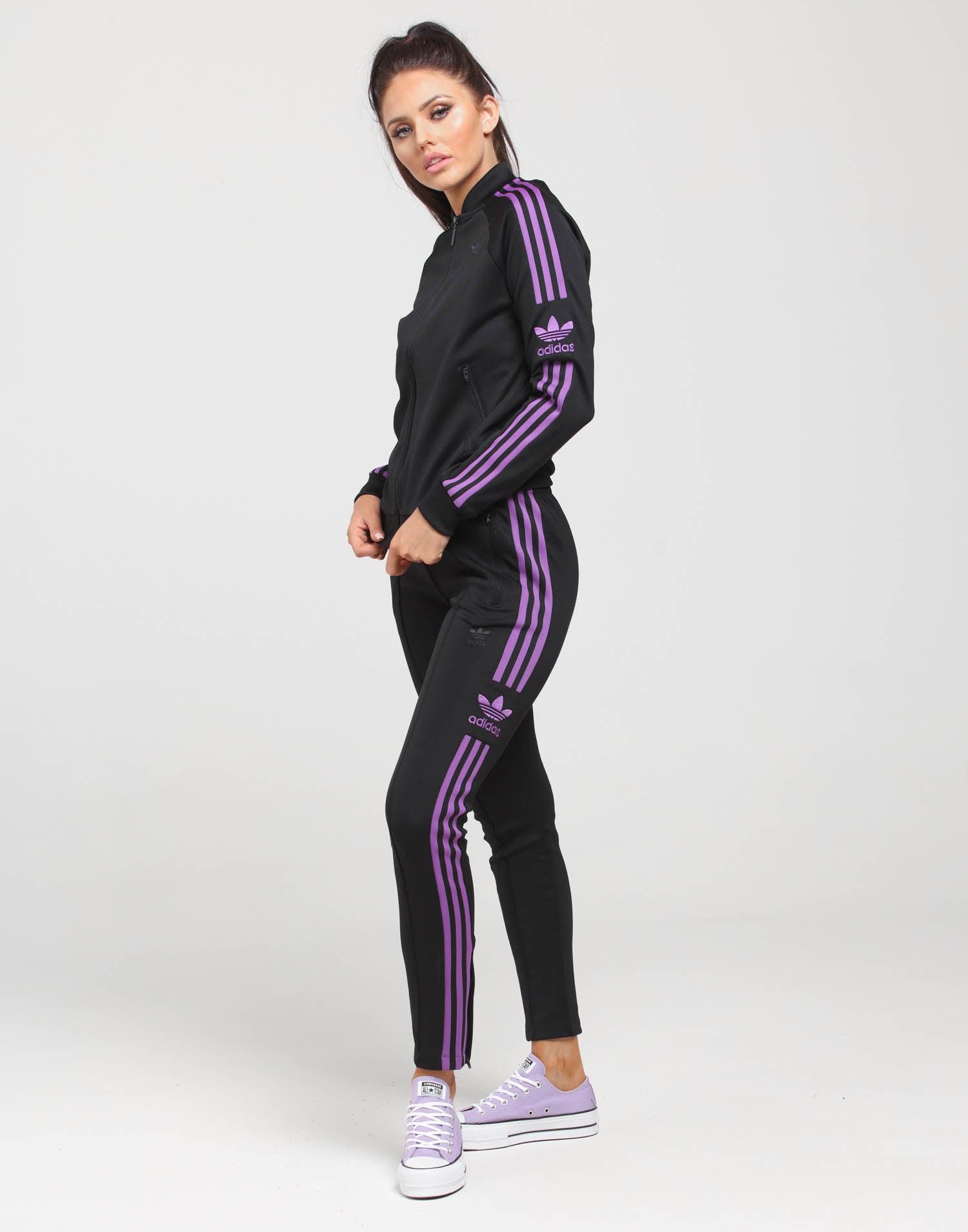 Women's Adidas velour tracksuit Both size s Never Depop