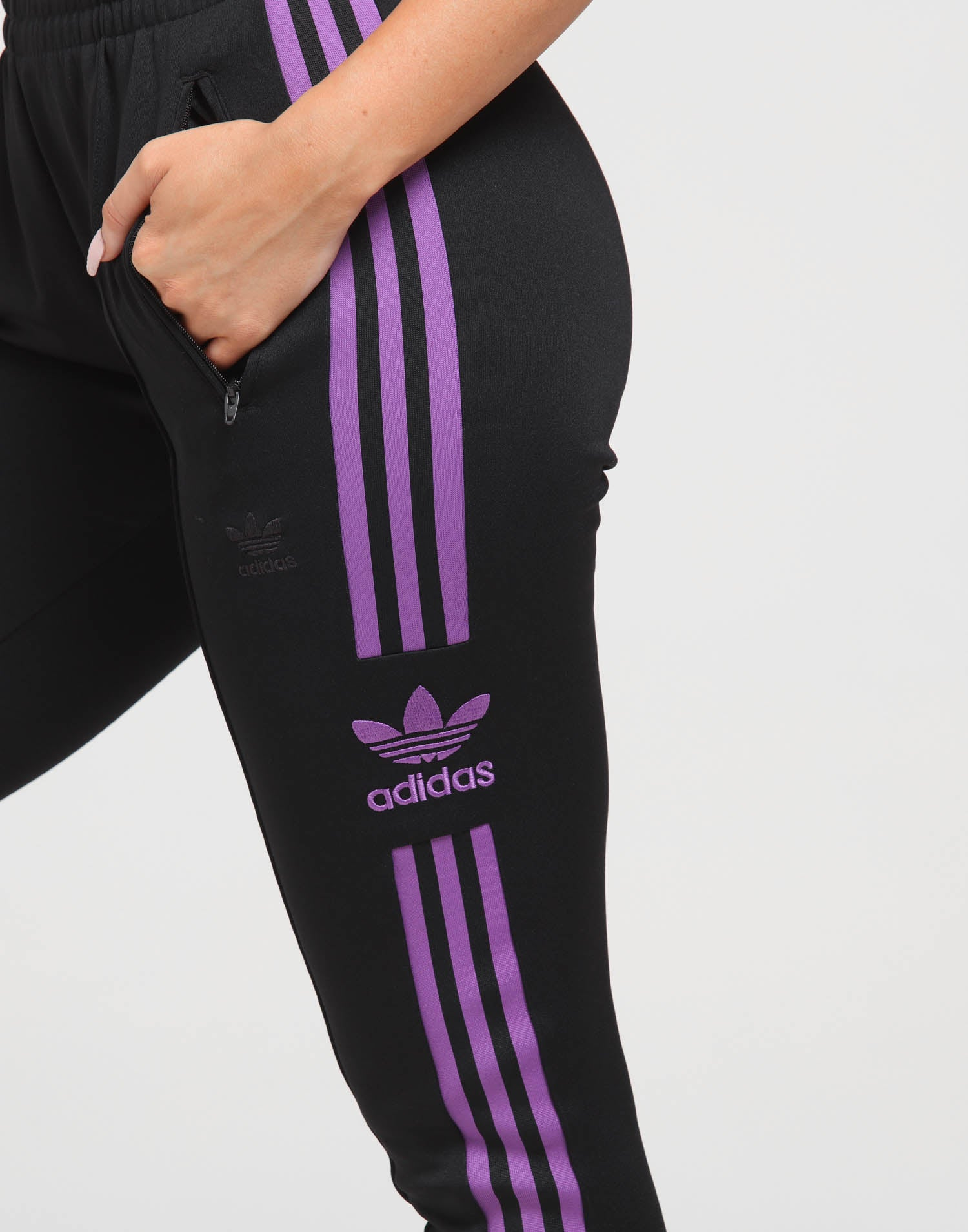 Adidas Women's SST Track Pants Black