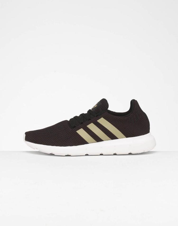 a8e1e755341c Adidas Women's Swift Run Black/Gold – Culture Kings
