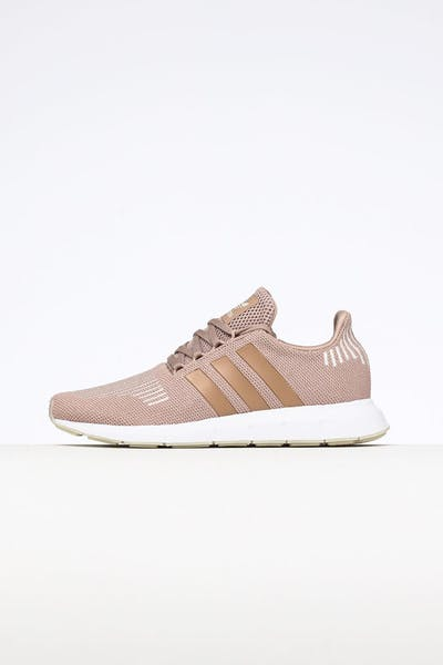 Adidas Women's Swift Run Pearl/White