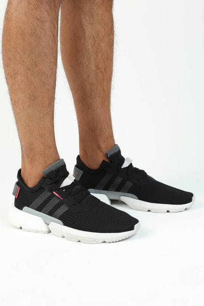 442da1729 Adidas POD-S3.1 Black Black Red