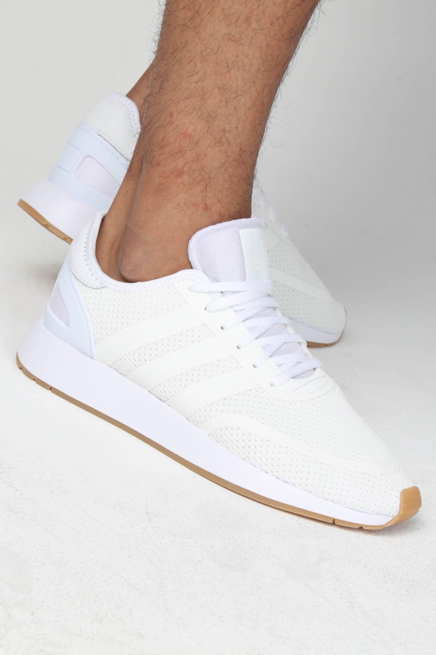 Adidas N-5923 White/White/Gum   Culture