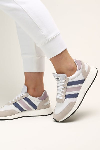 Adidas Women's I-5923 White/Soft Vis/White