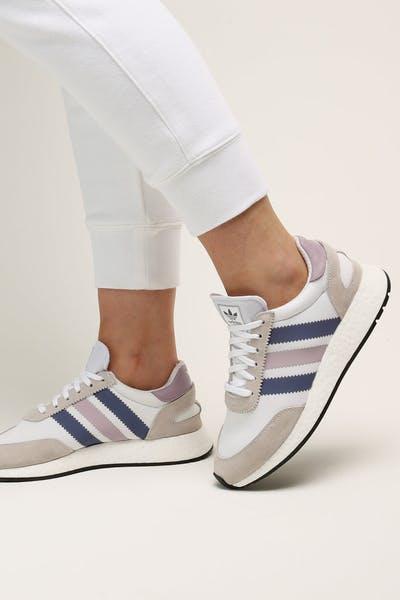 the latest 2ea95 c8ab3 Adidas Womens I-5923 WhiteSoft VisWhite