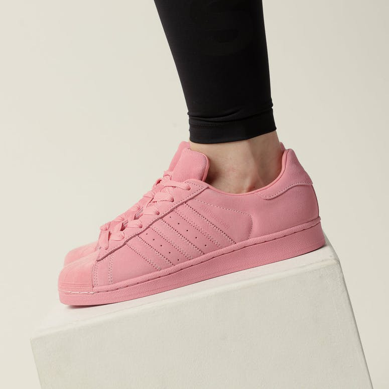 Adidas Women's Superstar Pink/Pink