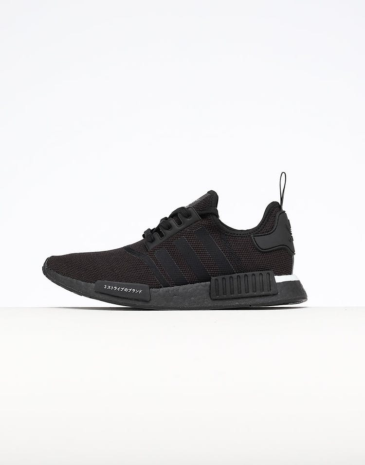 sports shoes b50ba 9ad97 Adidas NMD R1 Black Black White – Culture Kings