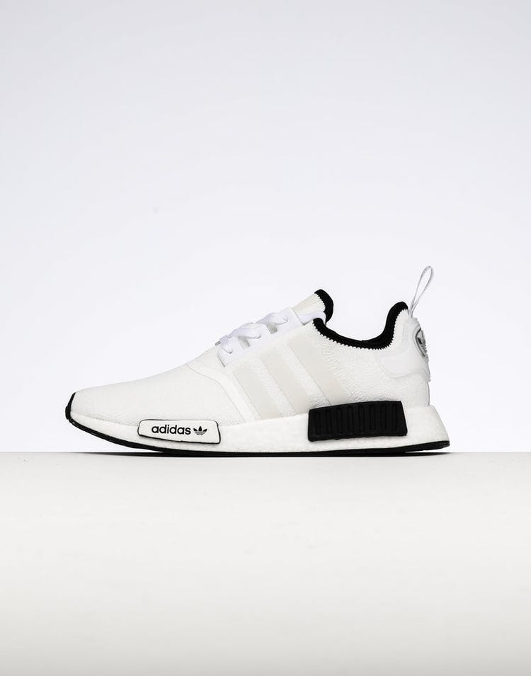 online store 9f0b5 2d729 Adidas NMD R1 White Black – Culture Kings