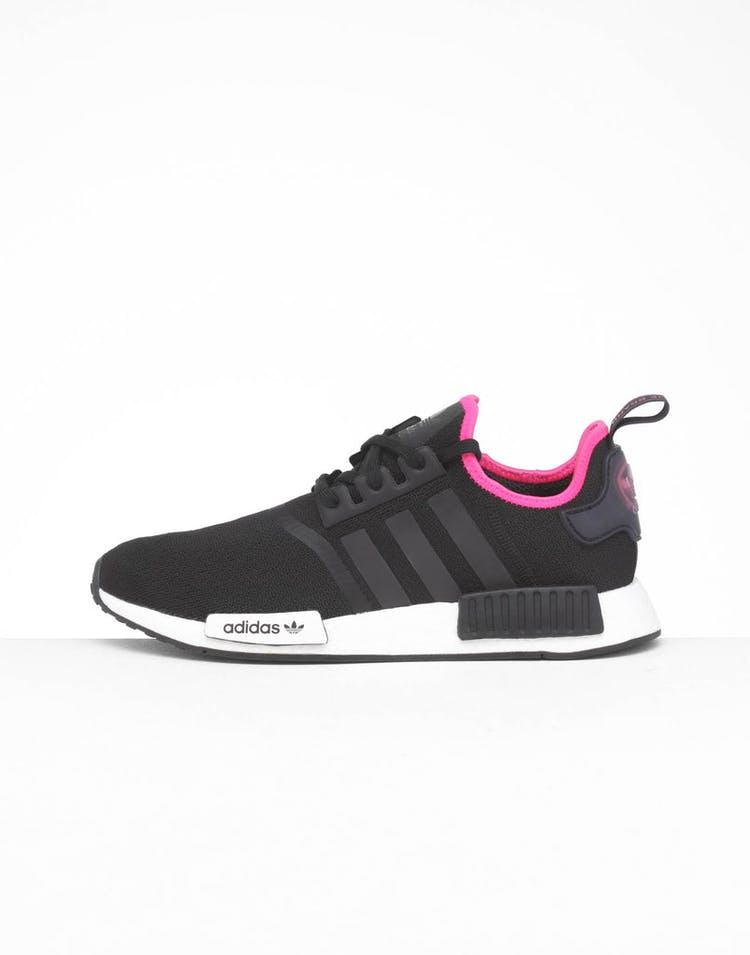 size 40 4cb78 77cb6 Adidas NMD_R1 Black/Black/Pink