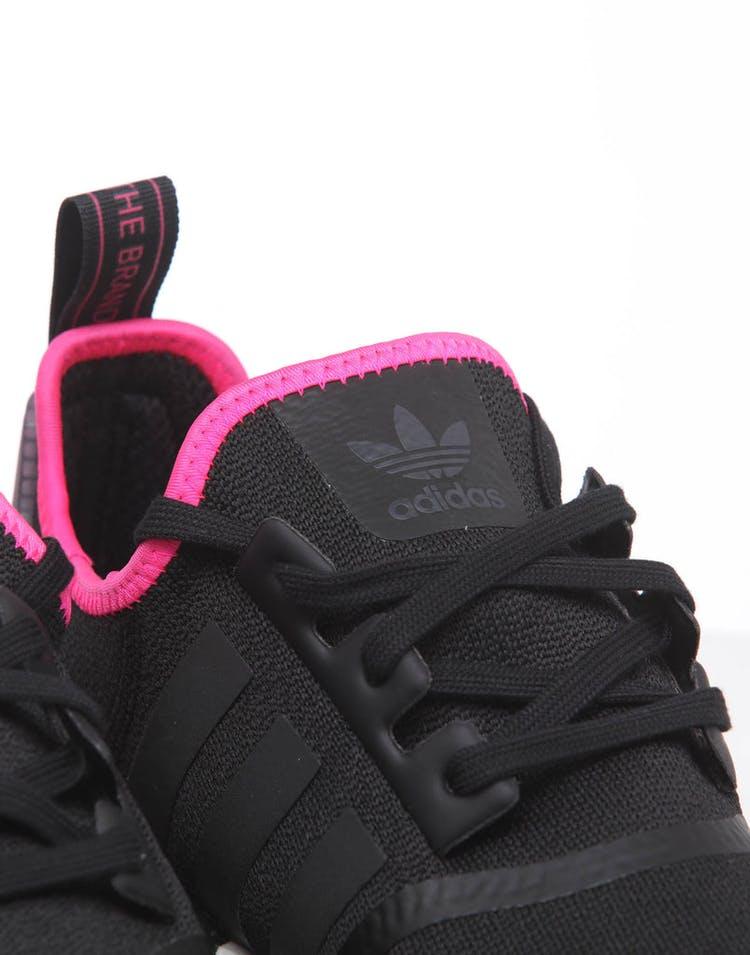 size 40 92f93 162cd Adidas NMD_R1 Black/Black/Pink
